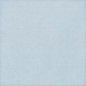 Paper 028- Stripes- Light Blue & White