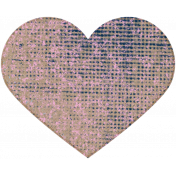 Tunisia Chipboard Heart