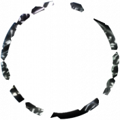 Tunisia Foil Circle 08