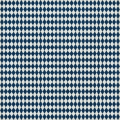 Argyle 09 Paper- Navy & White