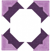 Tunisia Corners- Purple