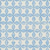 Paper 020- Ornamental- Blue & White
