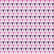 Geometric 33 Paper- Pink & Purple