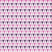 Geometric 33 Paper- Pink & Purple