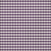 Argyle 09 Paper- Purple & White