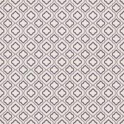 Quatrefoil 08 Paper- Purple & White