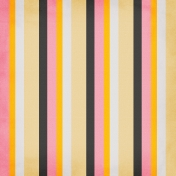 Stripes Paper- Yellow, Black & Pink