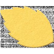 Felt Yellow Leaf