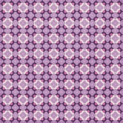 Quatrefoil 09 Paper- Purple & White