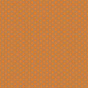 Geometric 12 Paper- Orange & Blue