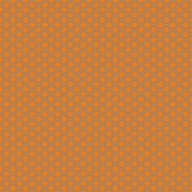 Geometric 12 Paper- Orange & Blue