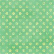 Polka Dots 35 Paper- Green & Yellow