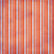 Stripes 52 Paper- Blue & Red