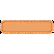 Belgium Tag- Orange