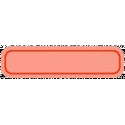 Belgium Tag- Red