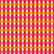 Paper 052- Argyle- Pink & Orange