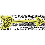 Birthday Arrow- Yellow