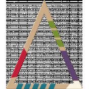 Birthday Kraft Painted Triangle 02