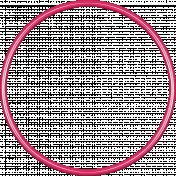 Birthday Frame- Pink