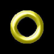 Birthday Eyelet- Yellow