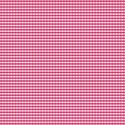 Paper 065- Plaid- Pink & White
