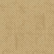 Tan Polka Dot 18 Paper