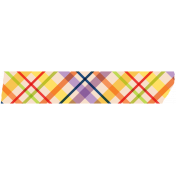 Plaid Washi Tape- Yellow & Red