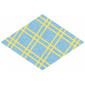 Challenged Sticker 01- Diamond Plaid