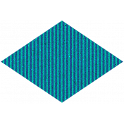 Challenged Sticker 04- Diamond Stripes