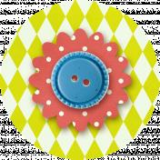 Taiwan Paper Flower 10f- Diamonds & Polka Dot