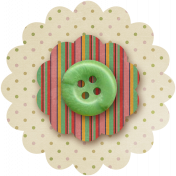 Taiwan Paper Flower 10j- Stripes & Polka Dot