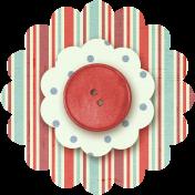 Taiwan Paper Flower 10l- Red Stripes