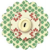 Taiwan Paper Flower 10m- Flower Patterns