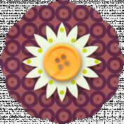 Taiwan Paper Flower 10p- Circles