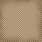 Taiwan Paper- Polka Dots 12- Brown