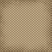 Taiwan Paper- Polka Dots 12- Brown