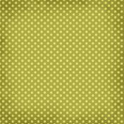 Taiwan Paper- Polka Dots 12- Lime Green