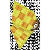 Taiwan Ribbon- Folded- Gingham