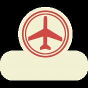 Taiwan Recreation Tab- Airplane