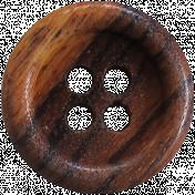 Taiwan Button 54- Brown