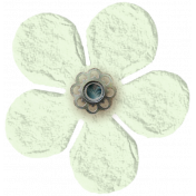 Taiwan Paper Flower- White