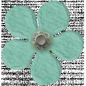 Taiwan Paper Flower- Blue