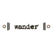 Travel Label- Wander