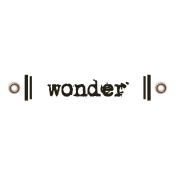 Travel Label- Wonder