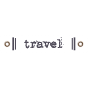 Travel Label- Travel