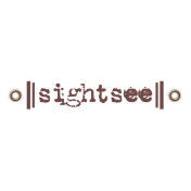 Travel Label- Sightsee