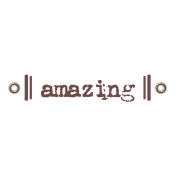 Travel Label- Amazing