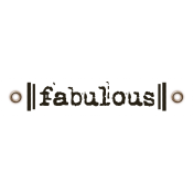 Travel Label- Fabulous