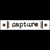 Travel Label- Capture