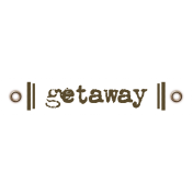 Travel Label- Getaway